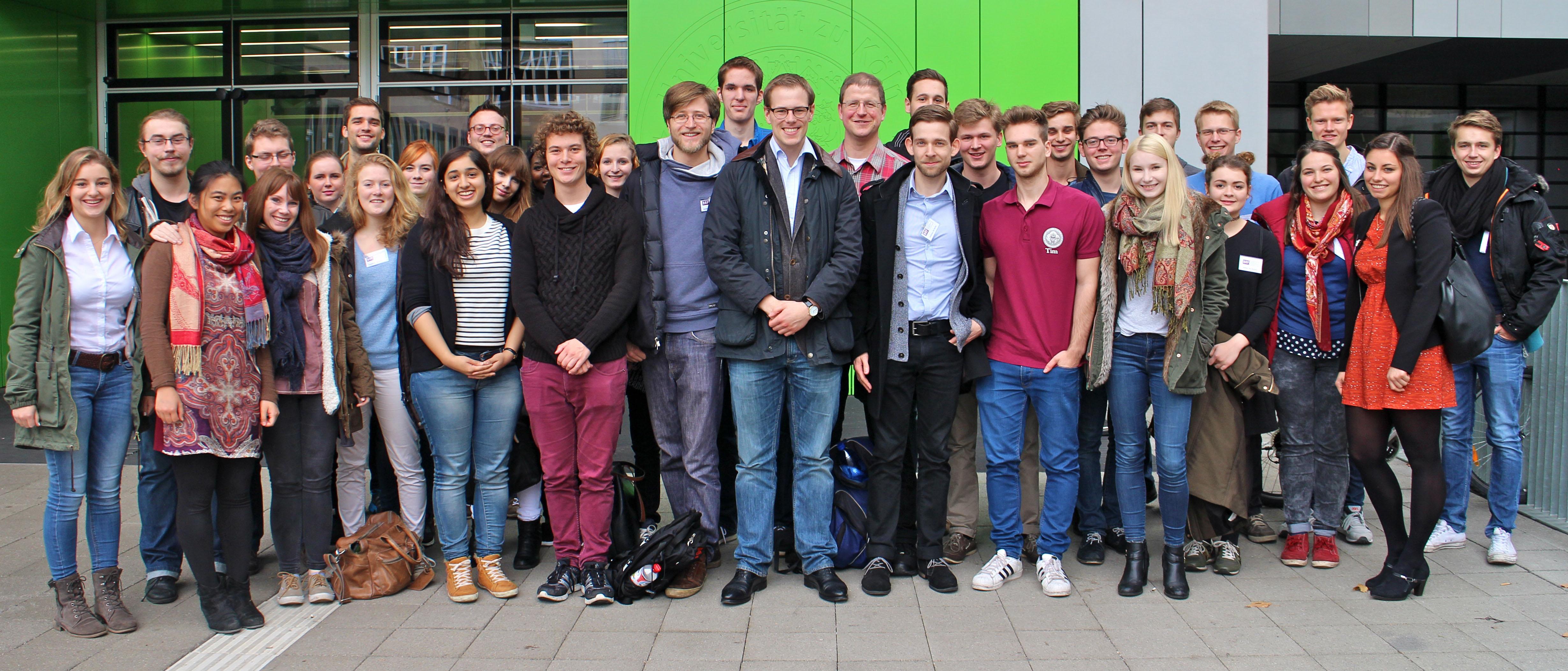 Gruppenfoto APT 2015 Köln