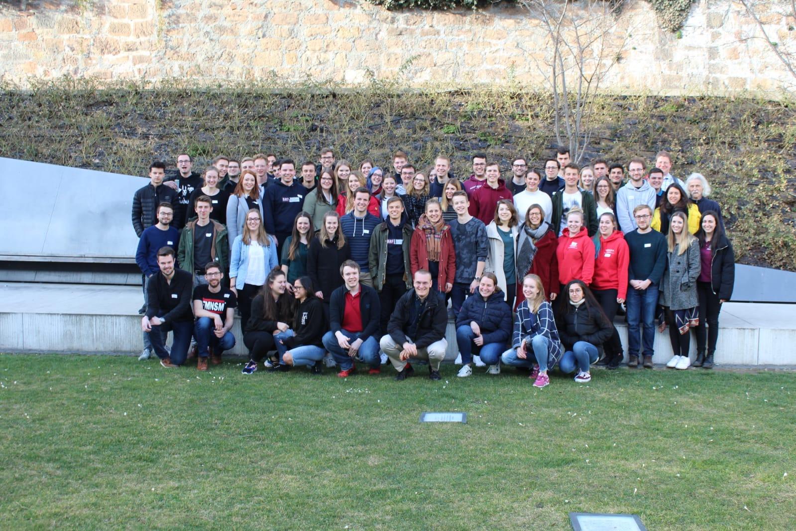 Gruppenfoto APT Marburg 2019